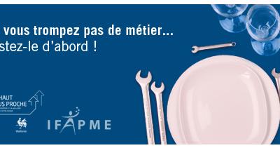 Découverte métiers à l'IFAPME