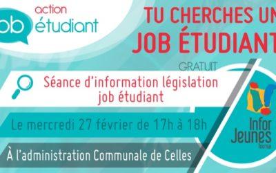 Action Job Étudiant à Celles – 27/02/2019