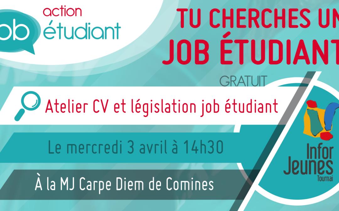 Action Job Étudiant à Comines – 3/04/2019