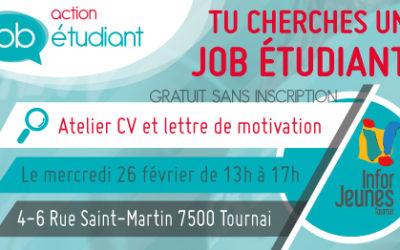 Atelier CV et lettre de motivation