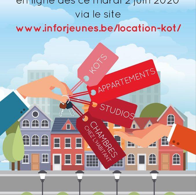 Service logement étudiant UNIQUEMENT EN LIGNE dès le 2 juin 2020